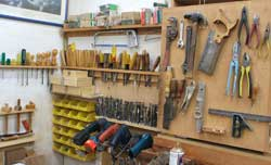 Dovetail Saws and Hammers